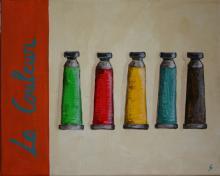 Tableau La couleur #2 : Artiste peintre Sophie Costa