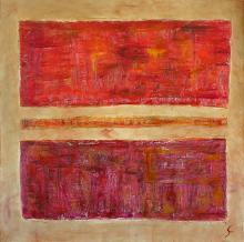 Tableau Rectangle : Artiste peintre Sophie Costa