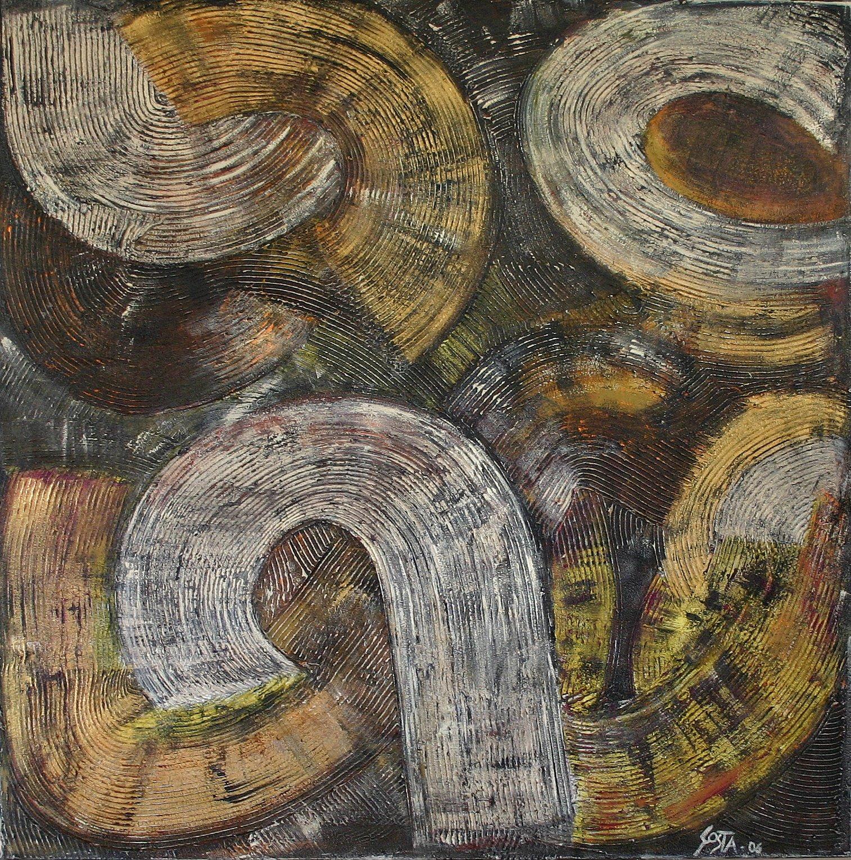 Tableau Contemporain, Antic. Sophie Costa, artiste peintre.