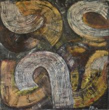 Tableau Antic : Artiste peintre Sophie Costa