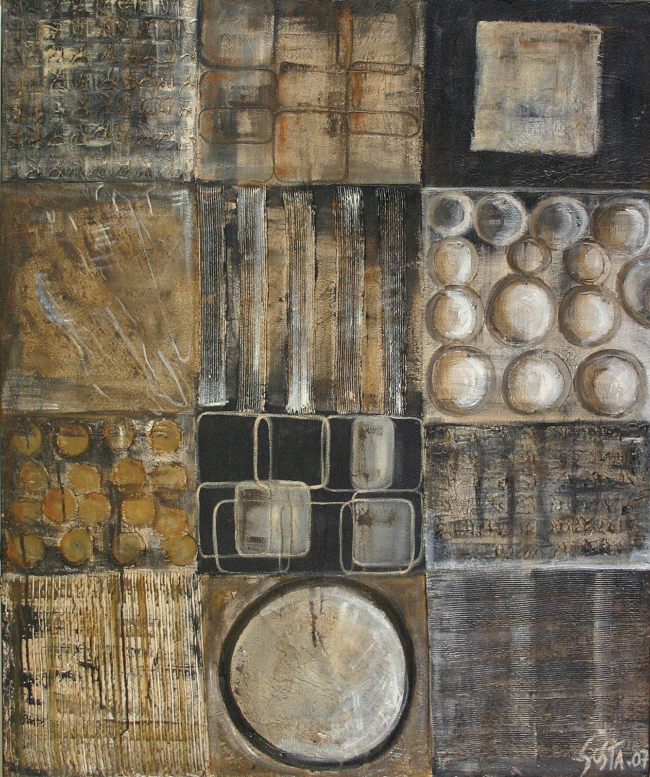 Tableau Contemporain, Zapping. Sophie Costa, artiste peintre.
