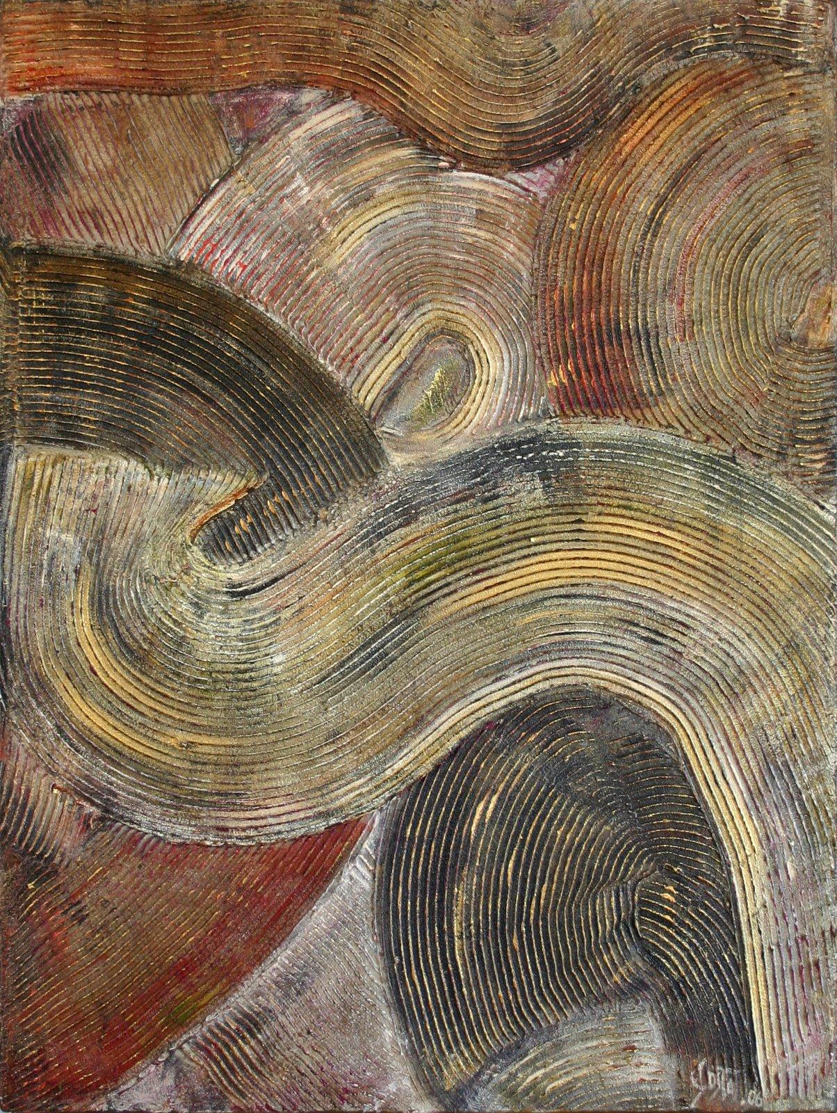 Tableau Contemporain, Mouvance. Sophie Costa, artiste peintre.