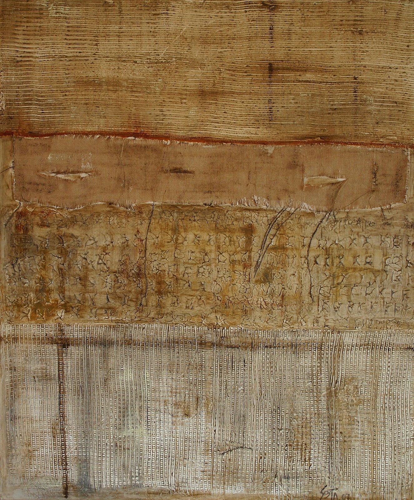 Tableau Contemporain, Trame (1). Sophie Costa, artiste peintre.