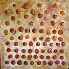 Tableau Ebullition : Artiste peintre Sophie Costa