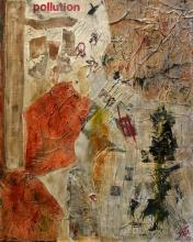 Tableau Pollution : Artiste peintre Sophie Costa