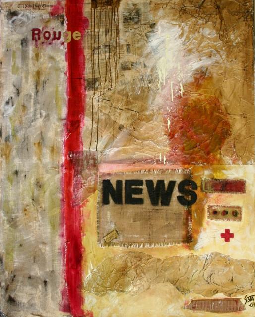 Tableau Contemporain, News. Sophie Costa, artiste peintre.