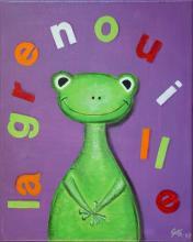 Tableau La grenouille : Artiste peintre Sophie Costa