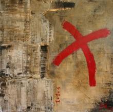 Tableau 1+1=4 : Artiste peintre Sophie Costa