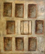 Tableau Fenêtre sur cour : Artiste peintre Sophie Costa