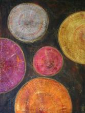 Tableau Microsillons 02 : Artiste peintre Sophie Costa