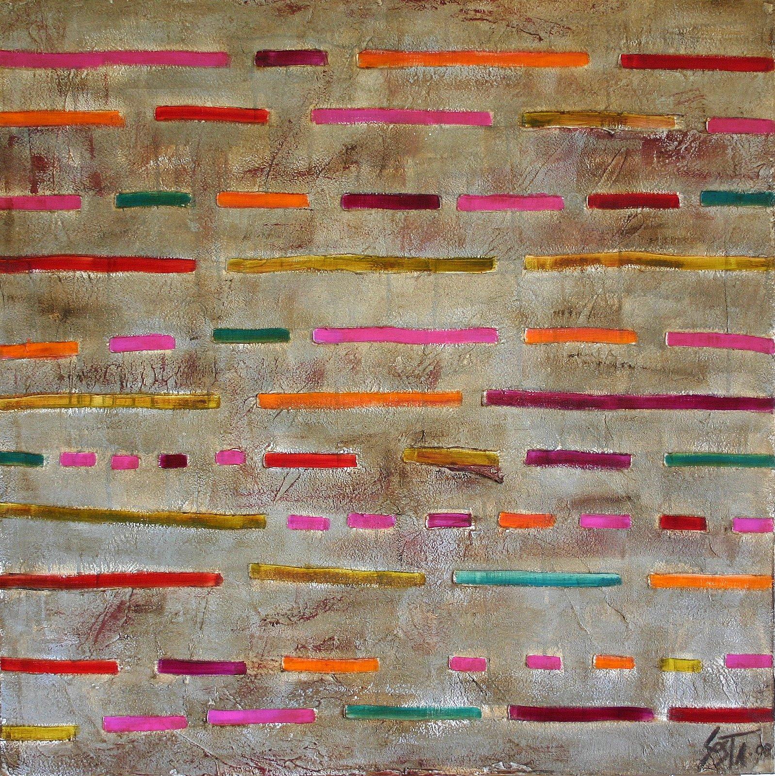 Tableau Contemporain, Dash 02. Sophie Costa, artiste peintre.