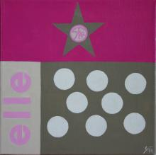Tableau Elle : Artiste peintre Sophie Costa