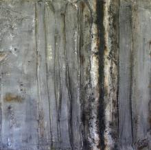 Tableau abstrait - Faille