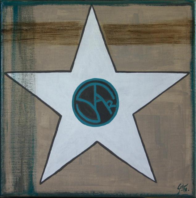 Tableau Contemporain, All star. Sophie Costa, artiste peintre.