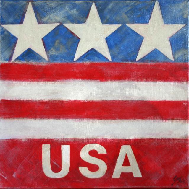 Tableau Contemporain, USA. Sophie Costa, artiste peintre.