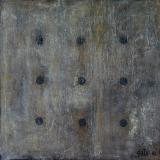 Black point 2, tableau abstrait