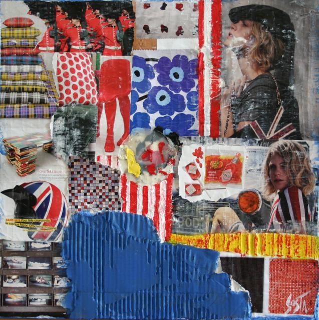 Tableau Contemporain, LONDON. Sophie Costa, artiste peintre.
