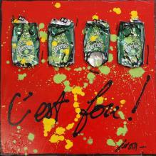 Tableau C'EST FOU ! : Artiste peintre Sophie Costa