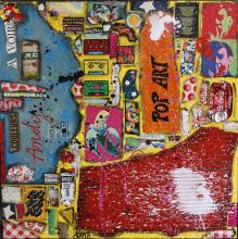 Tableau POP ART : Artiste peintre Sophie Costa