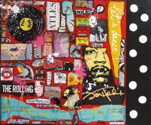 Tableau Let's dance ! : Artiste peintre Sophie Costa