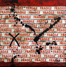 Tableau Fragil life # 2 : Artiste peintre Sophie Costa