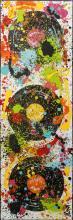 Tableau Atomic vinyl : Artiste peintre Sophie Costa
