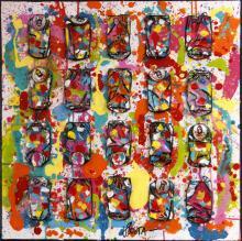 Tableau Vital Power : Artiste peintre Sophie Costa