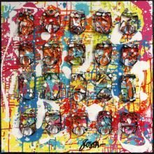 Tableau FREEDOM : Artiste peintre Sophie Costa