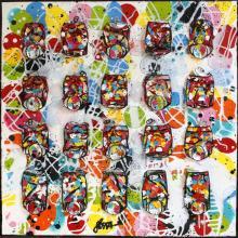 Tableau Graphic coke : Artiste peintre Sophie Costa