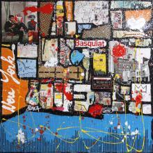 Tableau Basquiat forever : Artiste peintre Sophie Costa