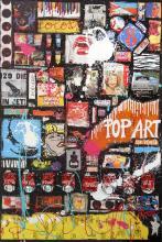 Tableau POP ART ATTITUDE : Artiste peintre Sophie Costa