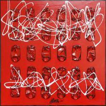 Tableau Electric Coke : Artiste peintre Sophie Costa