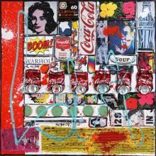 Tableau BOOM ! : Artiste peintre Sophie Costa