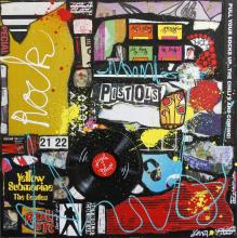 Tableau ROCK # 2 : Artiste peintre Sophie Costa