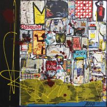 Tableau Basquiat and co : Artiste peintre Sophie Costa