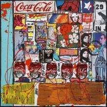 Tableau ANDY # 2 : Artiste peintre Sophie Costa