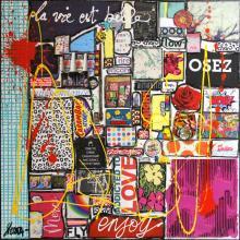 Tableau Osez, la vie est belle # 2 : Artiste peintre Sophie Costa