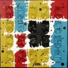 Tableau Puzzle Cans : Artiste peintre Sophie Costa