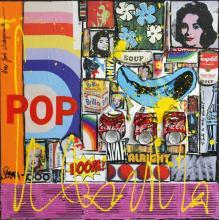 Tableau POP ! : Artiste peintre Sophie Costa
