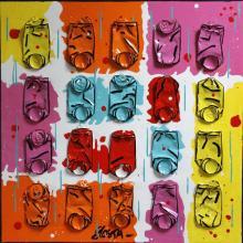Tableau CANDY : Artiste peintre Sophie Costa