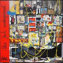 Tableau Basquiat Inception : Artiste peintre Sophie Costa