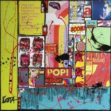 Tableau POP POP : Artiste peintre Sophie Costa